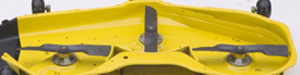 John Deere eztrak z425 54 inch deck zero turn mower