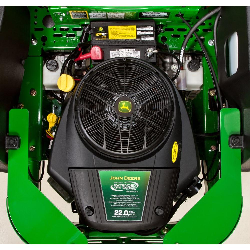 John Deere eztrak z425 engine zero turn mower