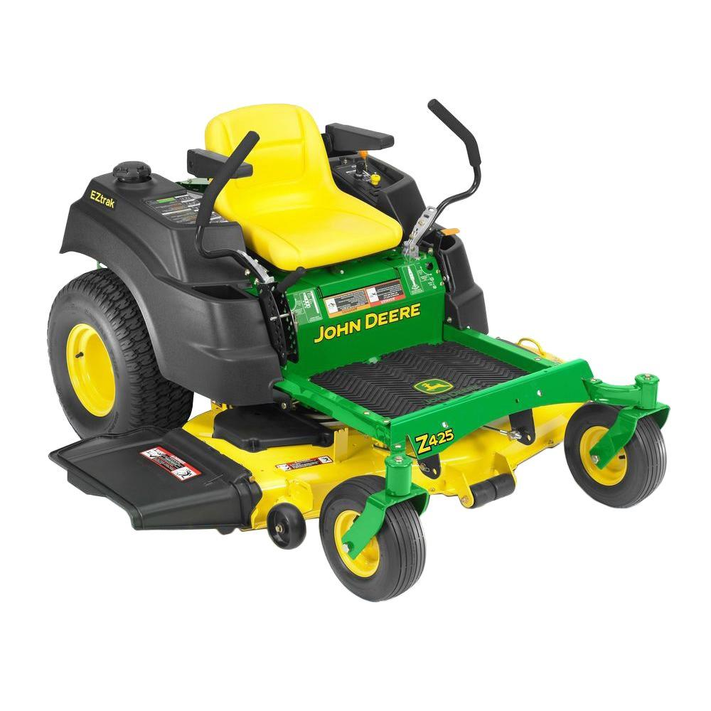 John Deere EZtrak Z425 54 inch zero turn mower