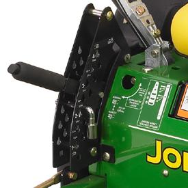 John Deere eztrak z425 mower deck lift zero turn mower