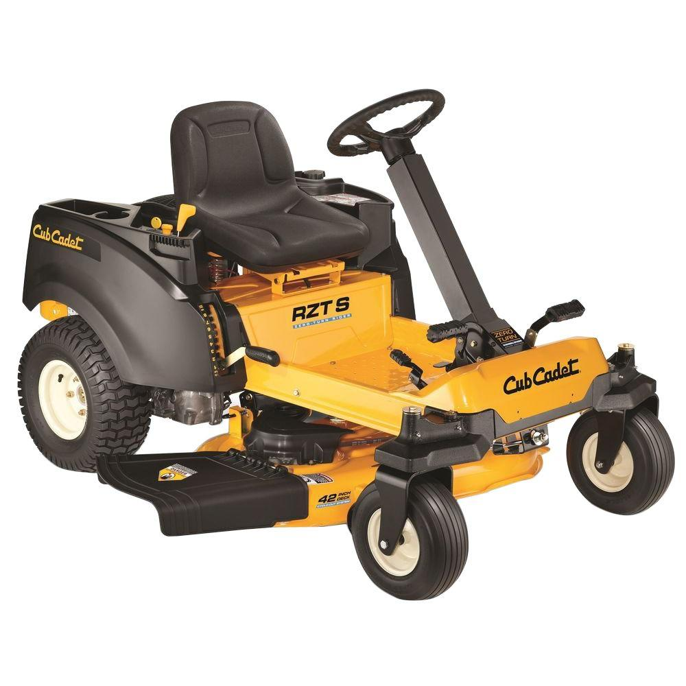 Cub Cadet Rzt S 42 Inch Review Top Rated Zero Turn Mower