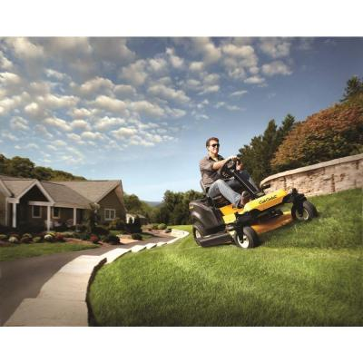 Cub Cadet RZT S 42 inch on slopes zero turn mower