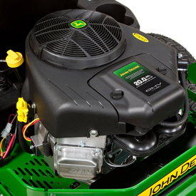 John Deere EZtrak Z235 engine zero turn mower