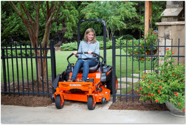 2015 New Kubota Kommander Z122R Zero Turn Mower
