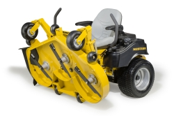 New 2015 Hustler Raptor Flip Up Deck Zero Turn Mower