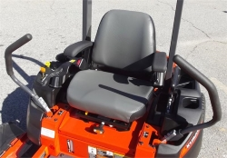 Zero Turn Mower Seat and Comfort