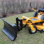 Zero Turn Mower Snow Plow Attachment