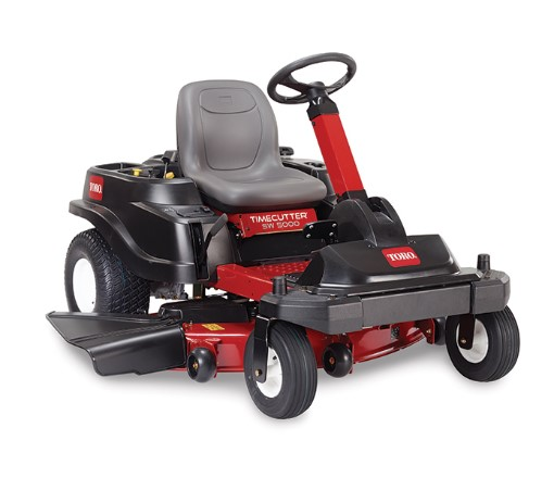 Toro TimeCutter SW Steering Wheel Controlled Front Steer Zero Turn Mower