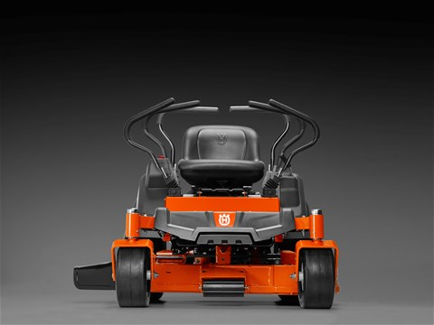 2015 Husqvarna Z246i controls comfort seat zero turn mower review