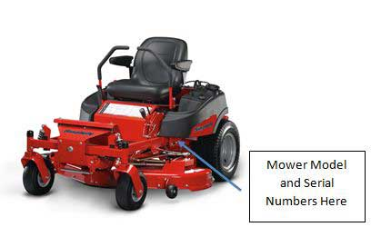 Recalled Briggs and Stratton Simplicity Riding Lawn Mowers