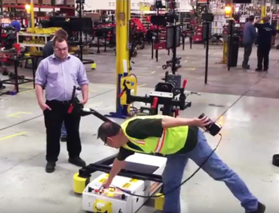 New Assembly Line for New 2015 Ariens Ikon-X and Gravely zt-x Zero Turn Mowers