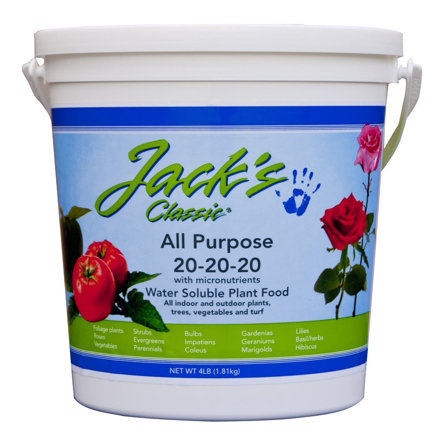 Jack's All Purpose Fertilizer Is Better Then Scotts Miracle-Gro
