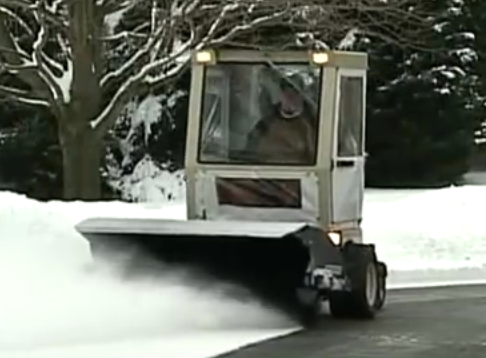 Zero Turn Rotary Broom Brush Snow Removal Attachment