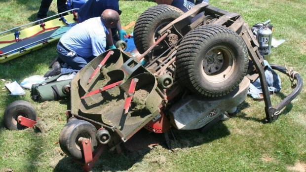 Zero Turn Mower Safety And Using Rops Is Serious Business