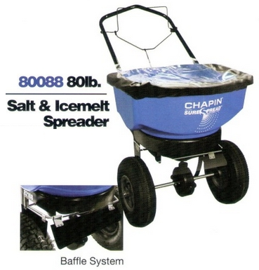 Chapin 80088 Salt Spreader with Baffle System