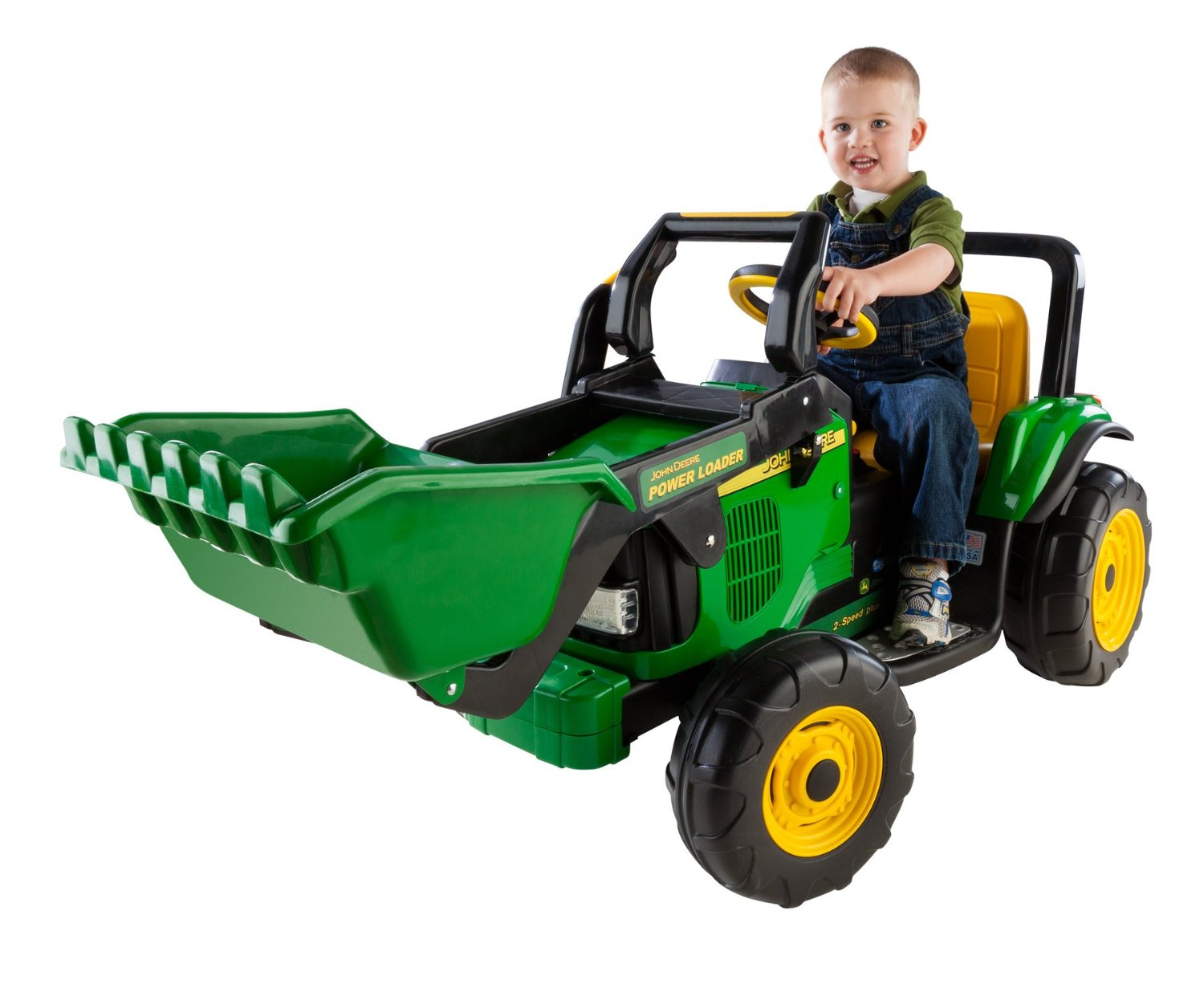 Peg Perego John Deere Power Loader Battery Powered Ride-On Toy