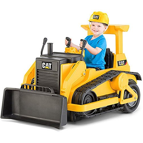 Kids CAT Bulldozer 12-volt Battery Powered Ride-On Toy
