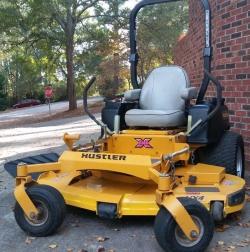 "Hustler X-One 60"" Commerical Zero Turn Lawn Mower"