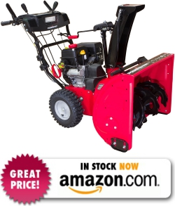 Power Smart DB7103-26 Inch 212cc Two-Stage Snow Thrower with Electric Start